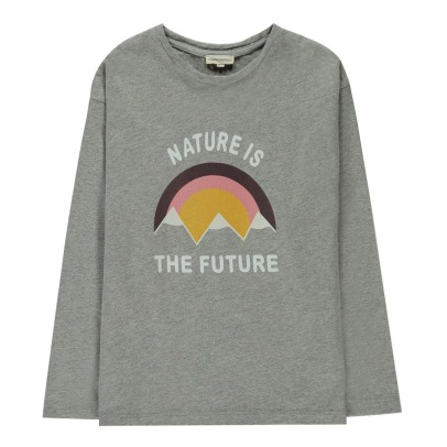 Hundred Pieces T-shirt Nature Is The Future-listing