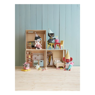 Littlephant Puppenhaus DIY aus Holz Base-listing