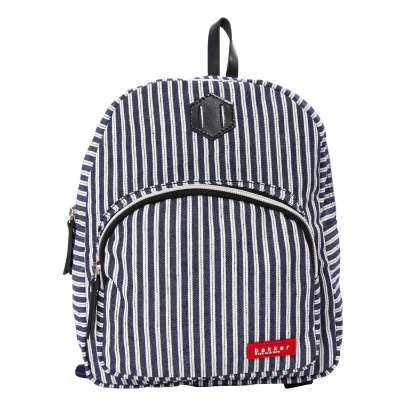Bakker made with love Striped Mini Backpack -listing