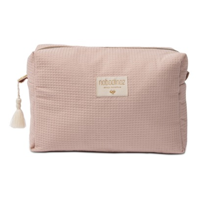 Nobodinoz Diva Organic Cotton Toiletry Bag-listing