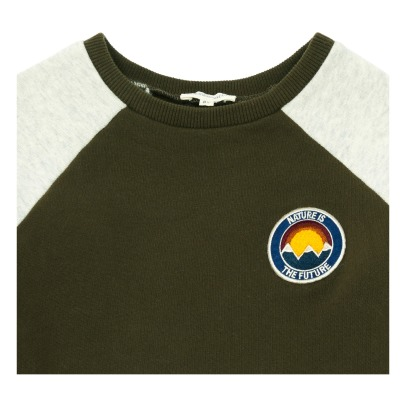 Hundred Pieces Nature Is The Future Two-Tone Sweatshirt-listing