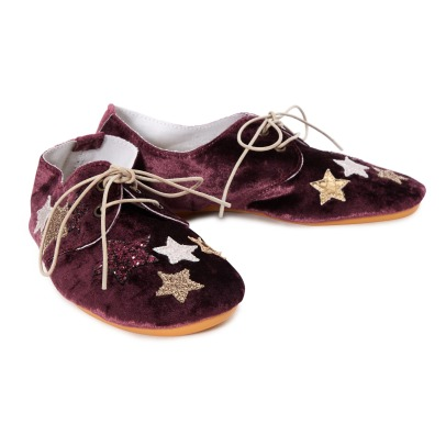 Anniel Derbies Velours-listing