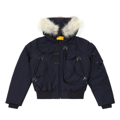 Parajumpers Gobi Boy Fur Lined Baseball Jacket-listing