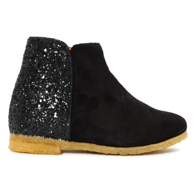 Emile et Ida Ida Sequined Leather Boots -listing