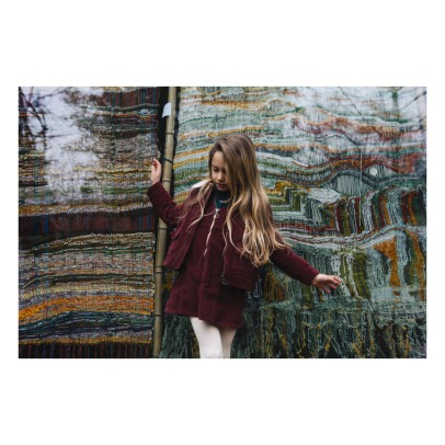 Hundred Pieces Nature Is The Future Ribbed Velvet Jacket-listing