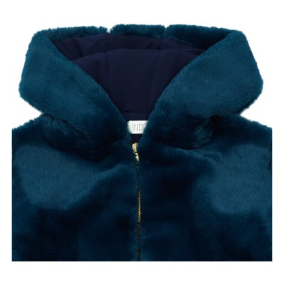 Indee Douala Faux Fur Basketball Jacket -product