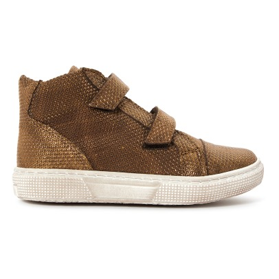 Pèpè Velvet Leather Trainers -listing