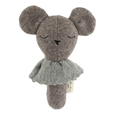 Konges Slojd Organic Cotton Bear Rattle-listing