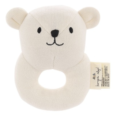 Konges Slojd Bear Organic Cotton Mini Rattle -listing