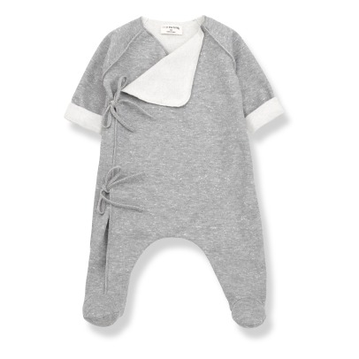 1+ IN THE FAMILY Norma Wrap-iver Romper -listing