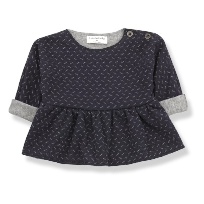1+ IN THE FAMILY Muriel Jacquard Blouse -listing