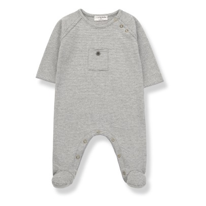 1+ IN THE FAMILY Asier Striped Romper -listing