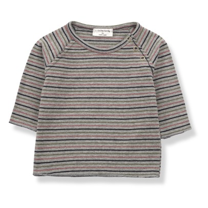 1+ IN THE FAMILY Bitor Striped T-shirt -listing
