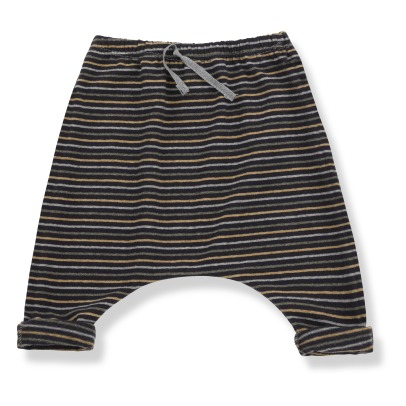 1+ IN THE FAMILY Sammy Striped Harem Pants -listing
