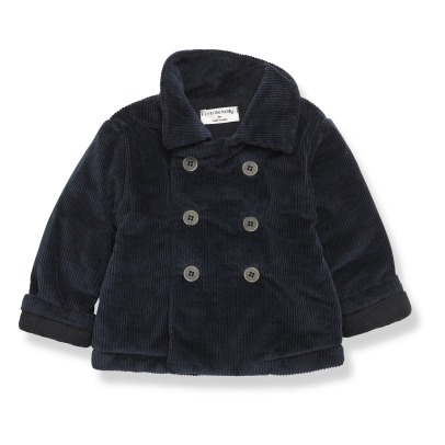 1+ IN THE FAMILY Tassilo Velvet Coat -listing