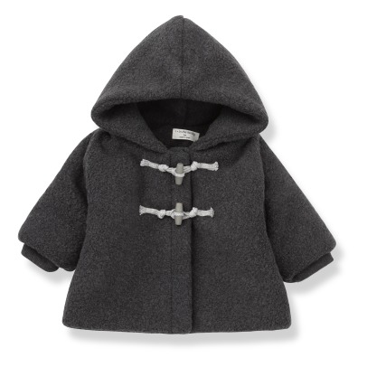 1+ IN THE FAMILY Duffle Coat Polaire Dorian-listing
