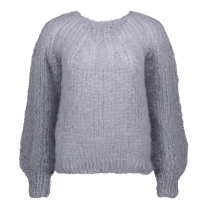 Maiami Mohair Openwork Jumper -listing