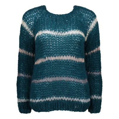 Maiami Mohair and Lurex Jumper -listing