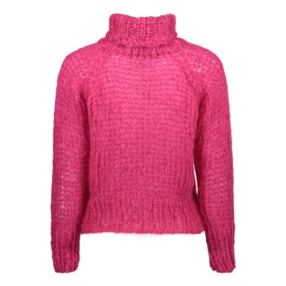 Maiami Mohair Cropped Jumper -listing