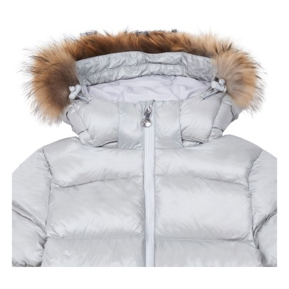 Pyrenex Autentic Shiny Fur Lined Down Jacket -listing