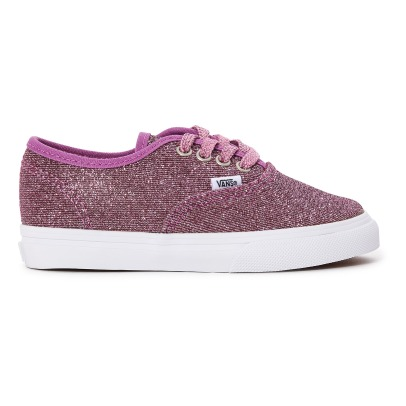 Vans Lurex Glitter Authentic Trainers -listing