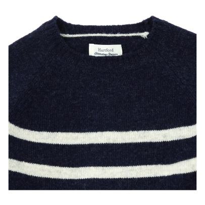 Hartford Pullover aus Wolle Shetland-listing