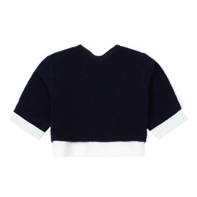 Pequeno Tocon Recycled Wool Fabric T-shirt -listing