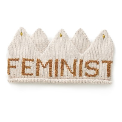 Oeuf NYC Alpaca Wool Feminist Crown-listing