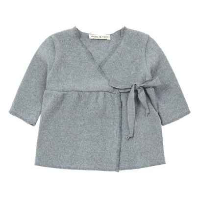 Babe & Tess Wrap-over Cardigan -listing