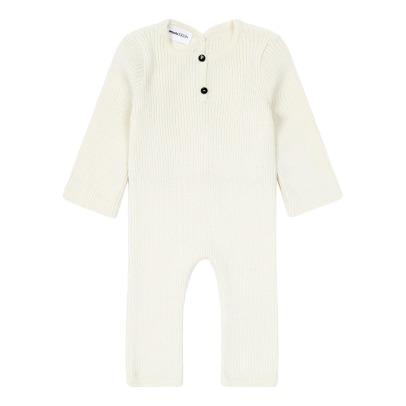 Pequeno Tocon Ribbed Romper -listing