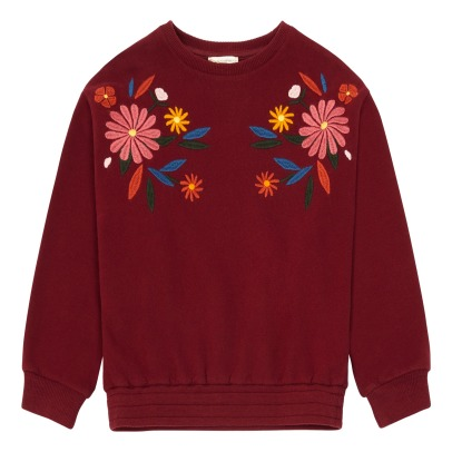 Hundred Pieces Flowers Sweatshirt-listing