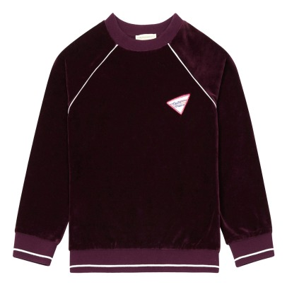 Hundred Pieces Electric Dreams Velvet Sweatshirt-listing