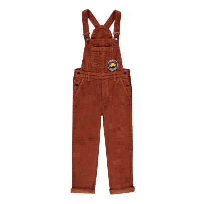 Hundred Pieces Nature Is The Future Ribbed Velvet Dungarees-listing