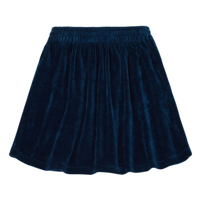 Hundred Pieces Velvet Skirt-listing