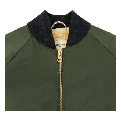 Bellerose Laethem Long Lined Bomber Jacket-listing
