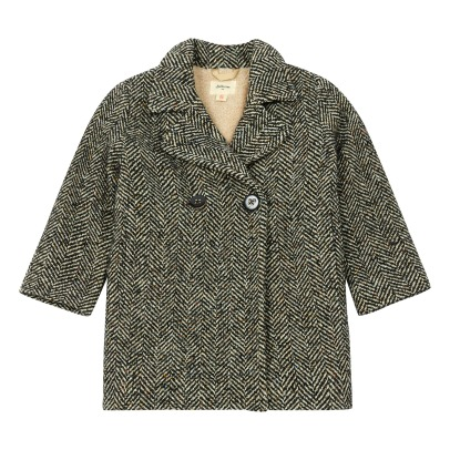 Bellerose Luths Wool Linen Chevron Coat -product