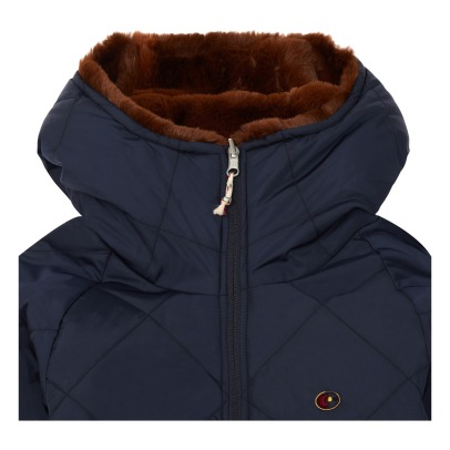 Bellerose Hubble Faux Fur Reverisble Jacket -listing
