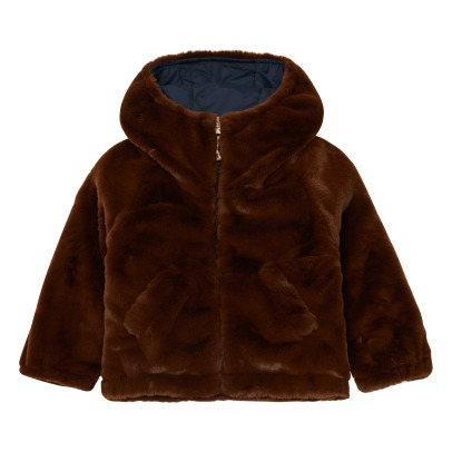 Bellerose Hubble Faux Fur Reverisble Jacket -product