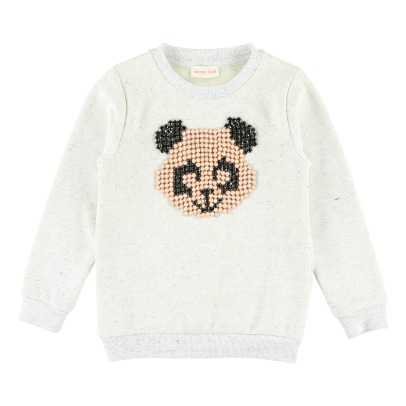 Simple Kids Panda Sweatshirt -listing