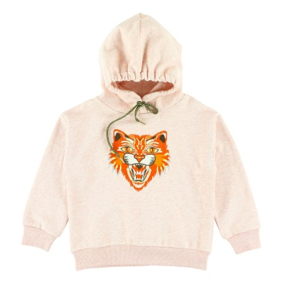 Simple Kids Tiger Hoodie -listing