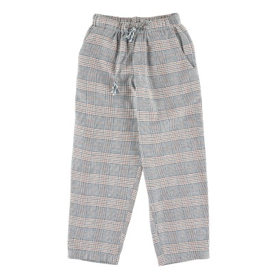 Simple Kids King Glen Plaid Trousers -listing