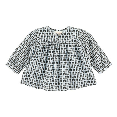 Simple Kids Pandas Blouse -listing