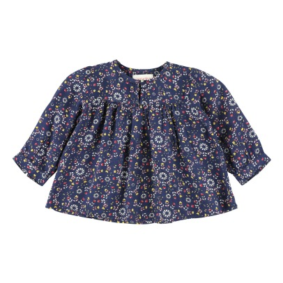 Simple Kids Floral Blouse -listing
