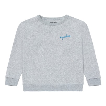 Maison Labiche Superhero Embroidered Sweatshirt -listing