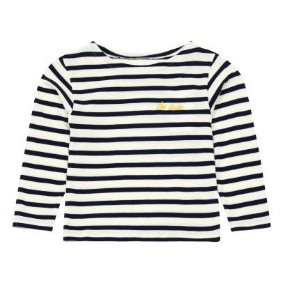 Maison Labiche The Dude Embroidered Striped T-shirt -listing