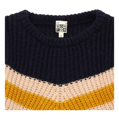 Bonton Striped Ribbed Jumper -listing
