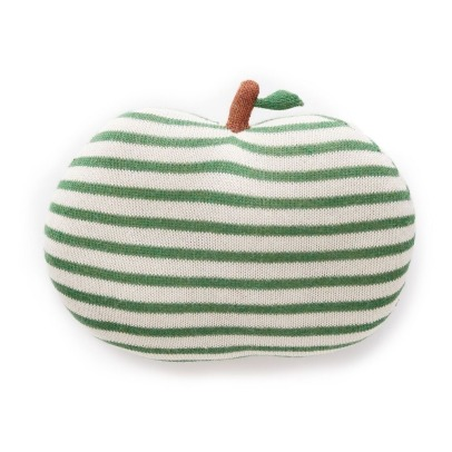 Oeuf NYC Striped Apple Cushion -listing