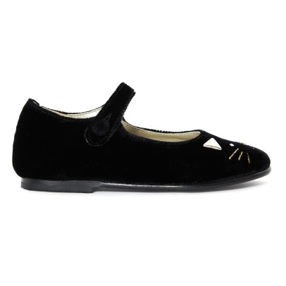 Bonpoint Schuhe/ Mary Jane aus Samt Marie-listing
