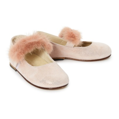 Babywalker Faux Fur Mary Janes-listing