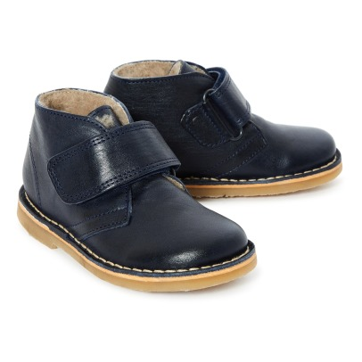 Petit Nord Fur Lined Velcro Boots -listing